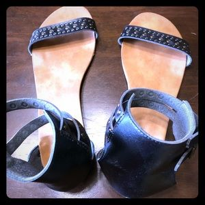 Mossimo Romeo Style Sandals in Black